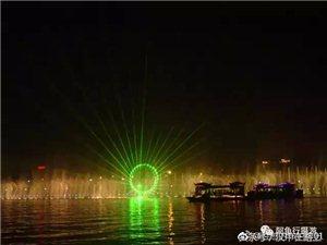 美丽的汉江夜景