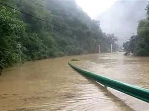 受暴雨洪灾影响近期切勿前往青木川景区