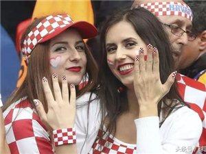 今晚11点!世界杯足球赛终极决赛~~法国、克罗地亚谁能夺冠?!期待!!!