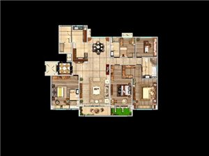 大荔�h最好的房子!