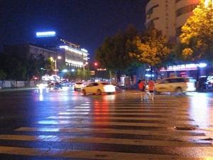 南团结街夜景