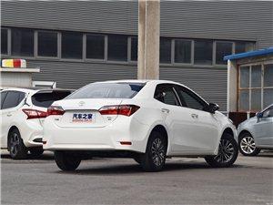 新车!丰田卡罗拉18款1.2T S-CVT GL