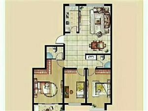 星光・星悦城3室2厅+学区房+可分期+毛坯