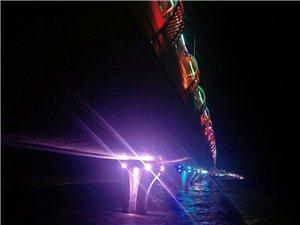 太湖边的夜景让我陶醉