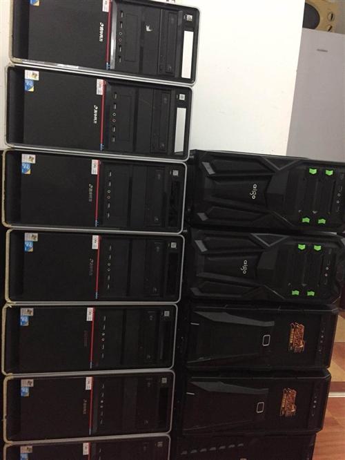 培訓公司幾十套電腦全部處理,有20多個筆記本,聯想雙核筆記本550一個。i5筆記本1200一臺。品牌...