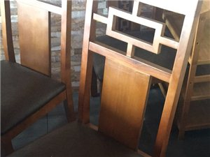 饭店桌椅转让只用了两月。有需要电联17778095560