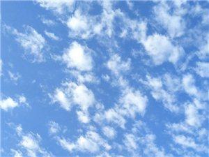 早上天空的那片云