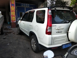 本田CRV  2.0四驱  最高配 无事故