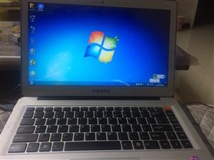 清华同方i3二代笔记本电脑,清华同方U45F 全金属14寸银色超薄笔记本电脑,全金属外壳,超薄轻便时...