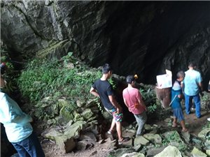 务川县砚山镇周家坨溶洞,专家考察称:有着巨大的研究开发价值