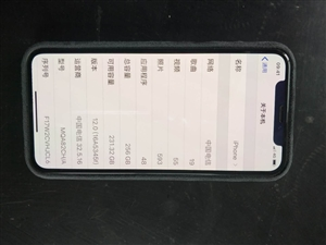 苹果x256深空灰,用了三个月,现急用钱出售,98新 无磕无碰,和新的差不多,前后膜一百多,壳有好几...