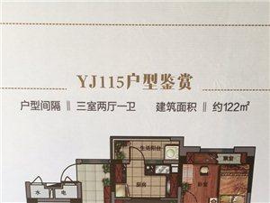 阜南碧桂园3室2厅1卫99万元