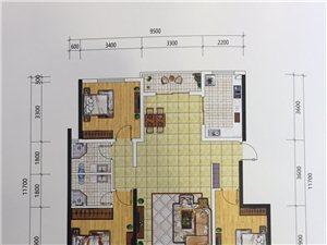 骏景园3室2厅2卫36万元