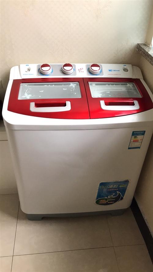 9成新双缸洗衣机,没怎么用,没地方放置!低价出售有需要的人!