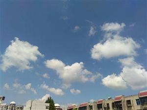 看上去天空很美!