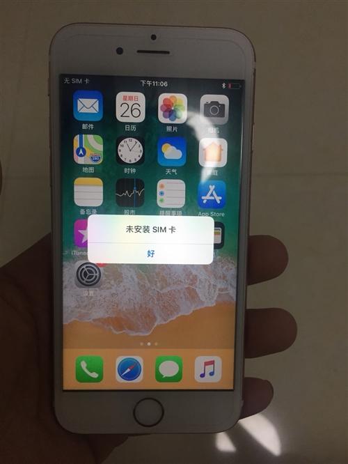 蘋果手機 蘋果6s  64G  玫瑰金 美版卡貼 兩網移動聯通4g  成色靚 整機無磕碰 僅后殼輕...