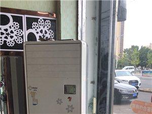 海尔柜式空调2380元 美的挂式空调1280元 擦一下八成新 不议价