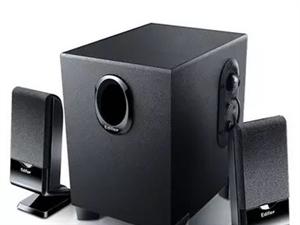 全新漫步者音箱,买来闲置,一直没用过。漫步者是国产音箱里做工质量音质都是最好的。需要的联系我。