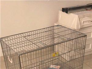 大号狗笼,全新没有用过,尺寸买大了,特此出售。