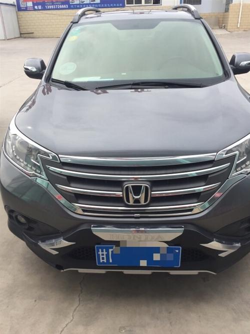 2012款本田CRV2.4L四驅高配