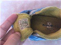 巴拉巴拉冬季加绒棉鞋男童,八成新,现20元转
