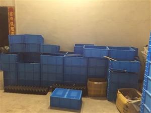 周转箱塑料长方形中转物流箱养鱼养龟箱汽配EU欧标周转筐,买多了用不完需要的朋友联系我