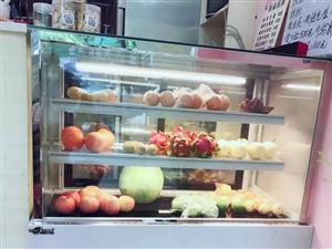 冰仕特商用风冷台式小型保鲜展示柜 1.2米落地冷风款   8成新  白色 原价3100元   现...
