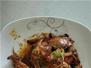国庆美食:香辣螃蟹