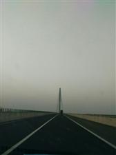美高梅注册西淮河特大桥好壮观