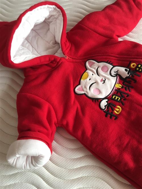 婴儿外出服,原价一百多,现50元处理,穿过一两次,适合半岁至一岁半穿