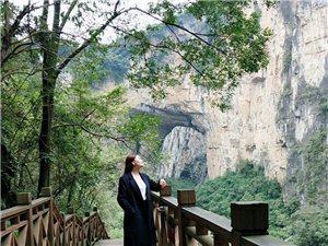织金大峡谷,洞里有洞,空气特别好