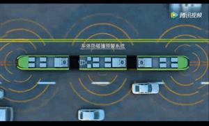 什么是智轨,仿佛是一辆从地下开到地上的地铁。