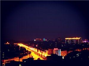 站到高处打高望,凤城夜景很美