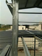 板房大小钢棚安装