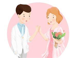 希望大家都是相爱而结婚,不要婚前想得很完美,结了以后又后悔!
