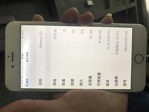 ��人自用6P�e置的。�]�_�^�]修�^。16G。成色一般,金色的。就是屏幕�端有一�K光斑,�l亮。不影�使用...