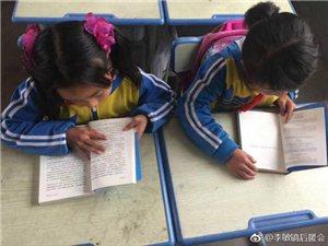 明星李敏镐为木河坪王村小学捐赠600多本爱心图书