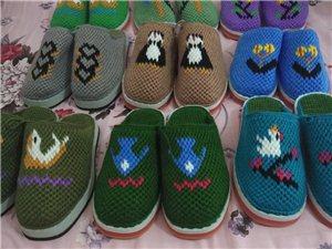 手工毛线拖鞋专卖