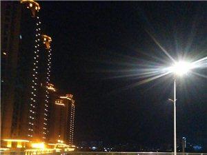 五河青年路大桥夜景