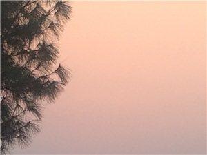 合江的太阳真好看。