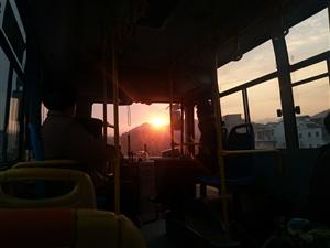 只要早起,就能看见心中的太阳!