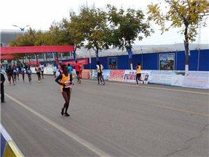 彬州市策五届国际马拉松比赛今天开幕了