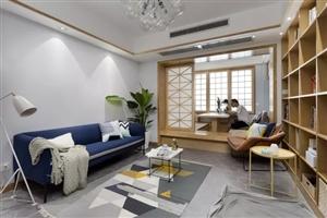 92�O现代原木2居,阳台装成榻榻米,好看又让人羡慕!
