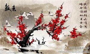 【梅.小令.回文.玻璃体】梅,冬韵俏妍绽馨菲。