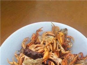 你吃过这样的螃蟹吗??童年的回忆