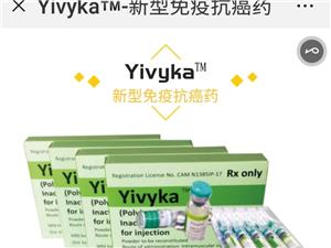 我们的免疫抗癌药物-yivyka,有效的清除体内癌细胞,没有任何毒副作用。体内免疫细胞激活疗法作