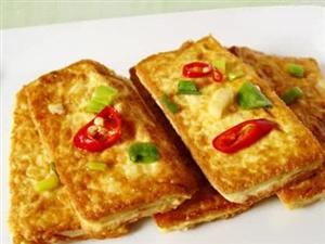 一块豆腐,两个鸡蛋,做出好味道,营养丰富,一上桌就被哄抢!。