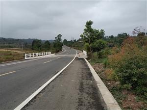 程龙渡江交界处桥墩存在很大安全隐患。