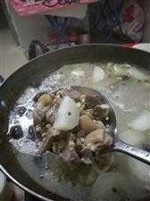 在广东也自己搞羊肉火锅。改不了吃货本色