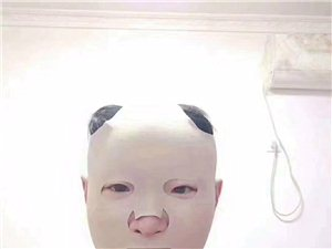 做一个精致的猪猪男孩,敷个美白祛斑头套